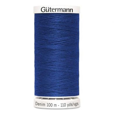 Gütermann jeansgaren 100 m, kleur 6756