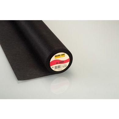 Vlieseline H200 90 cm zwart, per meter