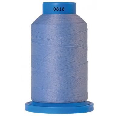 Amann Mettler Seraflock lockgaren 1000m lichtblauw kleur 0818