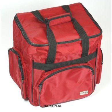 Lockmachine tas tutto rood
