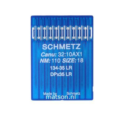 Naalden 134-35 LR (leer) Schmetz dikte 110, 10st.
