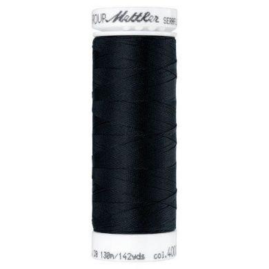 Mettler Seraflex 130m kleur 4000, zwart