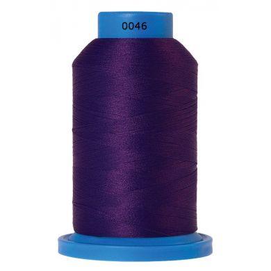 Amann Mettler Seraflock lockgaren 1000m paars kleur 0046