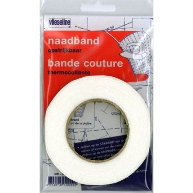 Vlieseline Naadband Wit 10mm x 12,5m