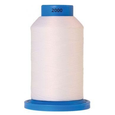 Amann Mettler Seraflock lockgaren 1000m wit kleur 2000