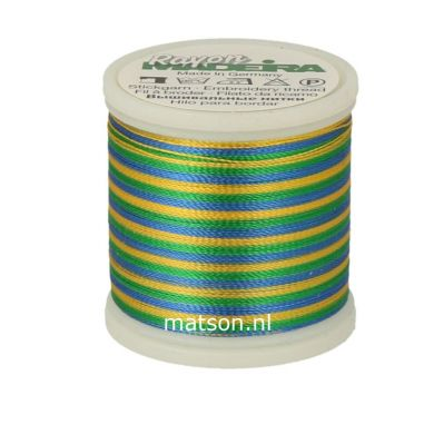 Madeira Rayon Multicolor 200 m, kleur 2146
