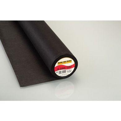 Vlieseline H250 90 cm zwart, per meter