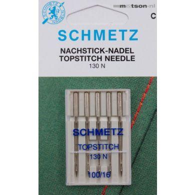 Schmetz naalden topstitch 100, 5 st