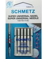 Super universal naald (anti plak) Schmetz dikte 70