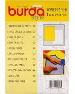 Burda kopieerpapier wit/geel