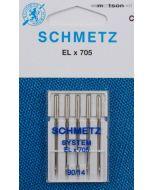 Schmetz naalden ELx705 90, 5 st