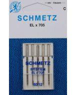 Schmetz naalden ELx705 80, 5 st