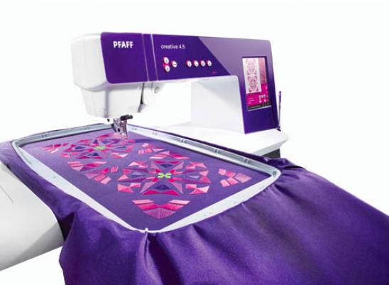 Is het mogelijk om te borduren met een naaimachine?