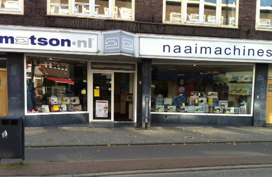 Matson naaimachines Utrecht