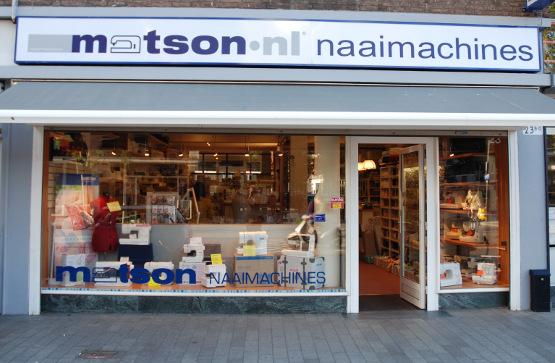 Matson naaimachines Rotterdam