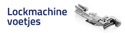 Lockmachine voetjes