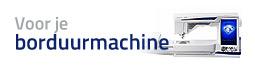 Voor je borduurmachine
